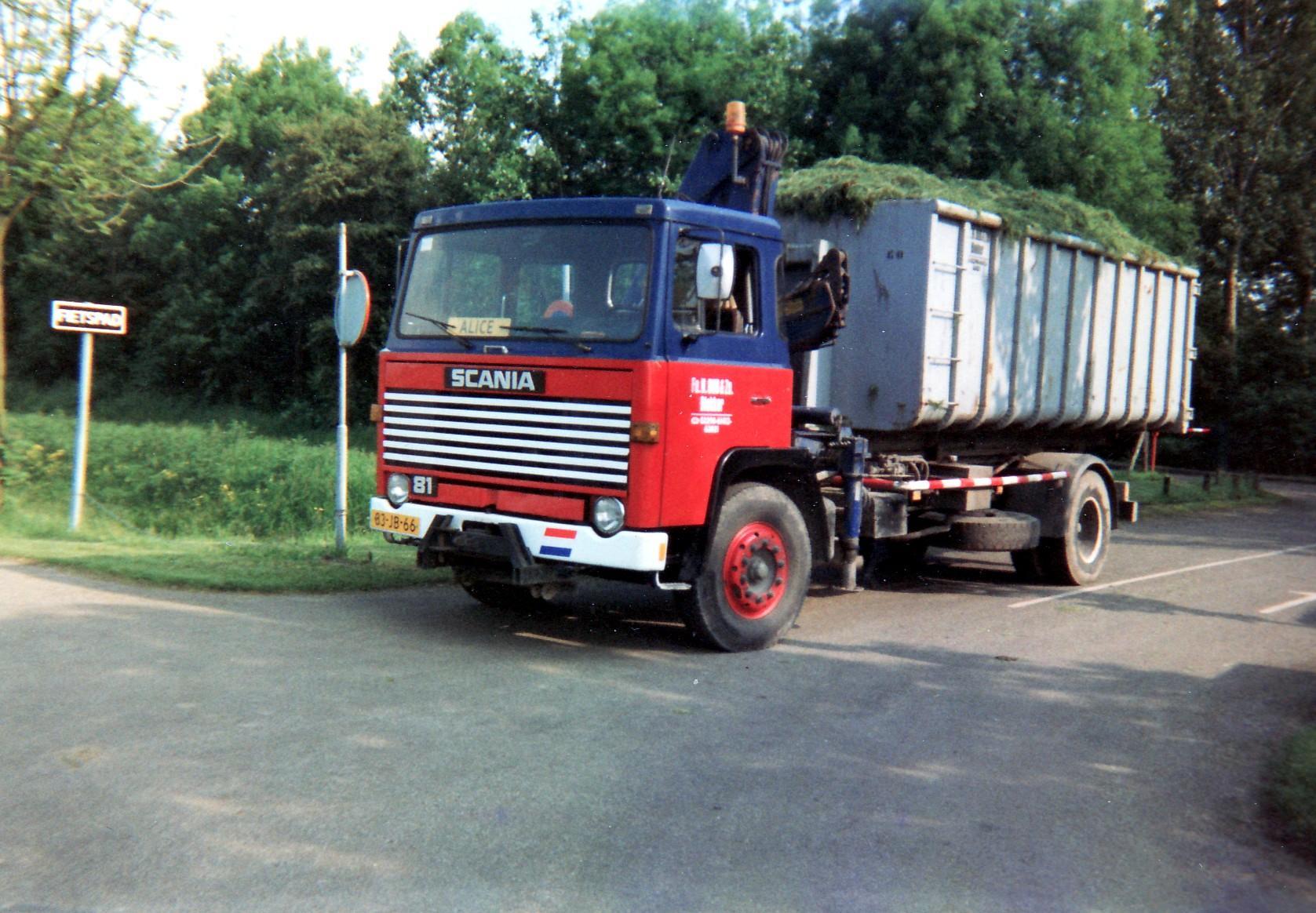 Transportbedrijf Oud in 1988