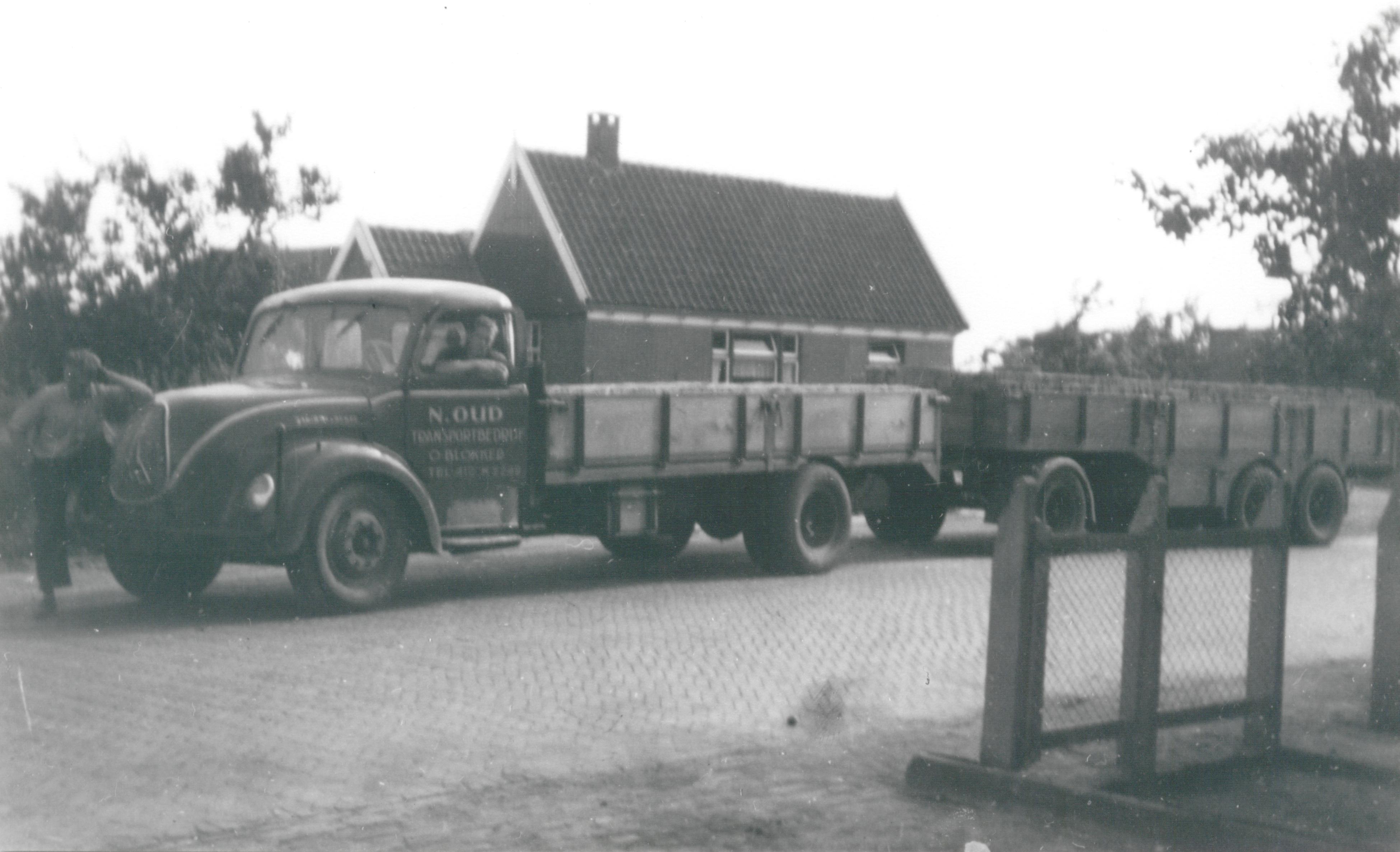 Transportbedrijf Oud in 1958
