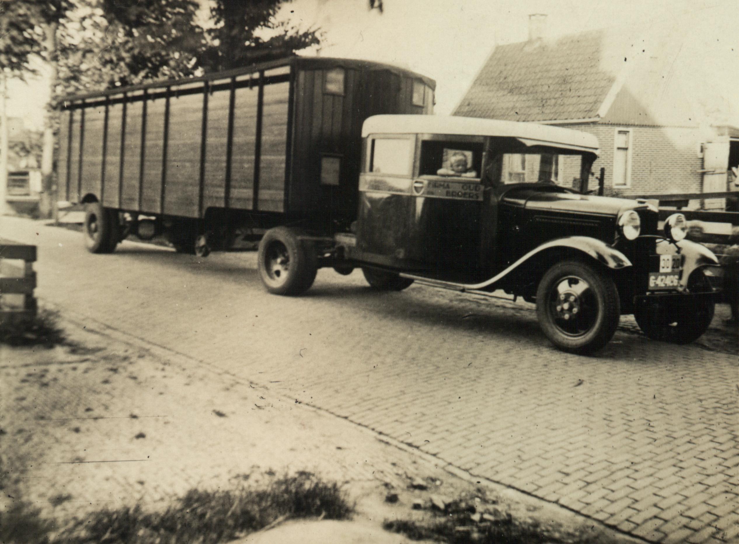 Transportbedrijf oud in 1933