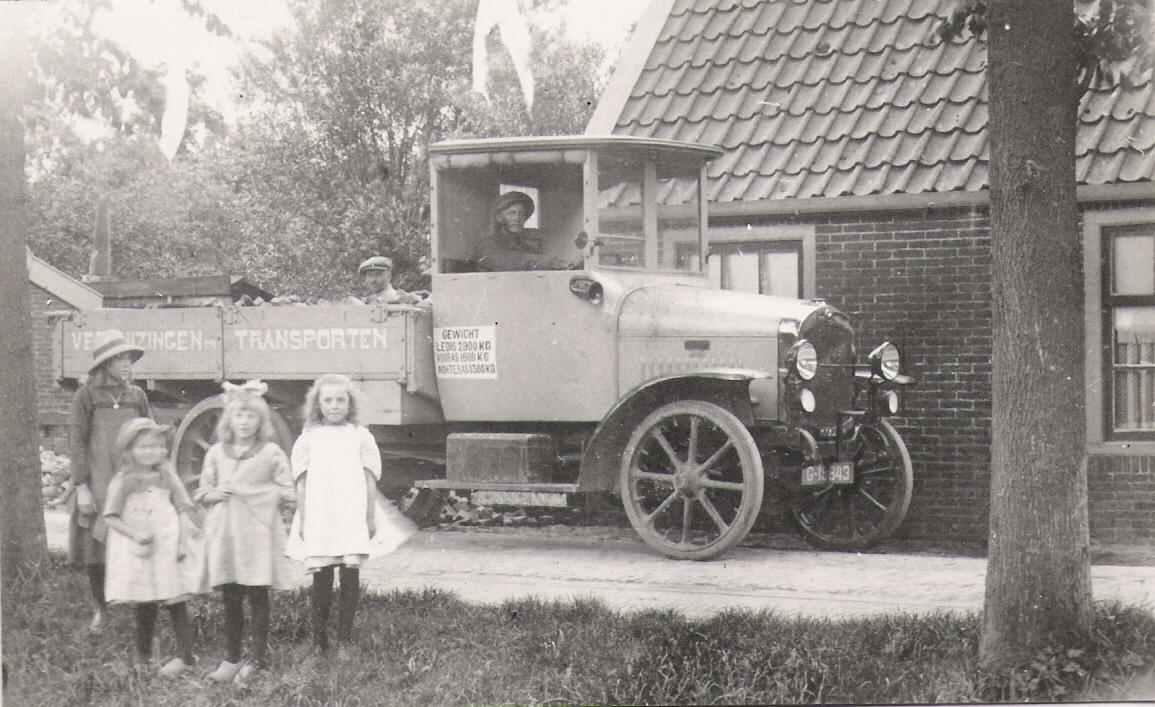 Transportbedrijf oud in 1922