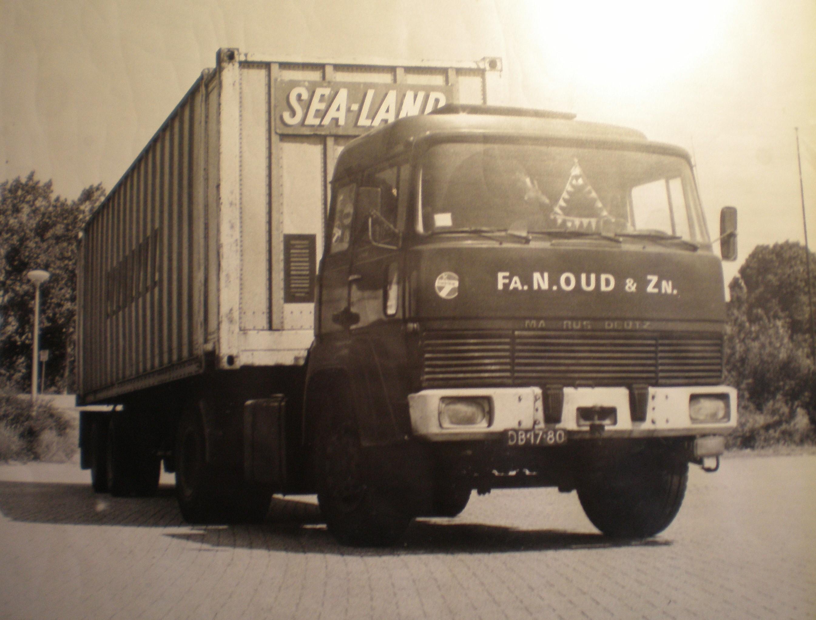 Transportbedrijf Oud in 1973