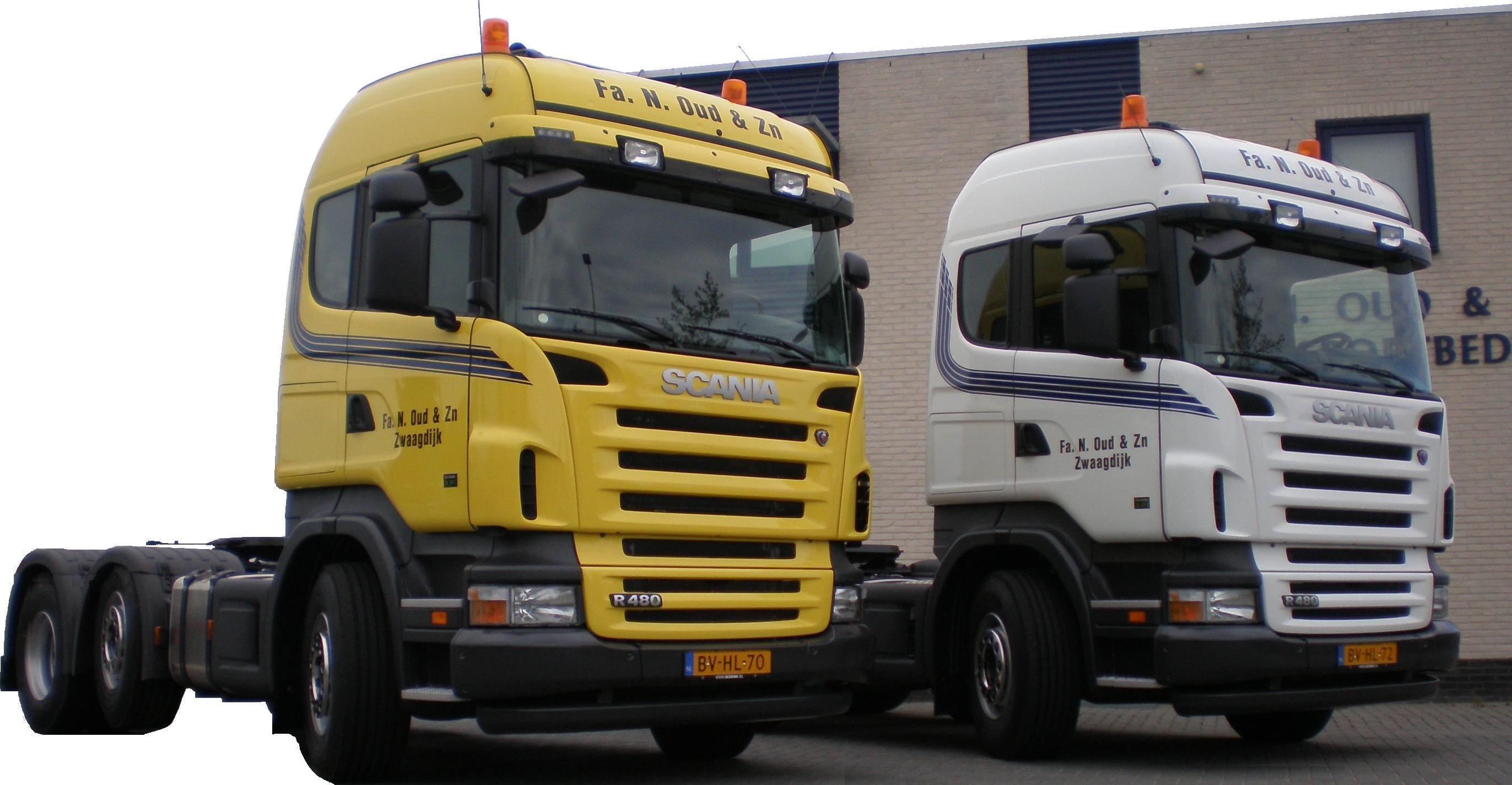 Transportbedrijf Oud in 2008