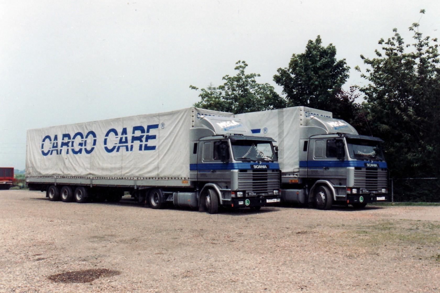 Transportbedrijf oud in 1993