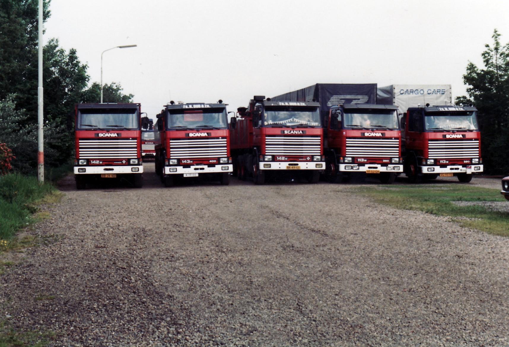 Transportbedrijf oud in 1999