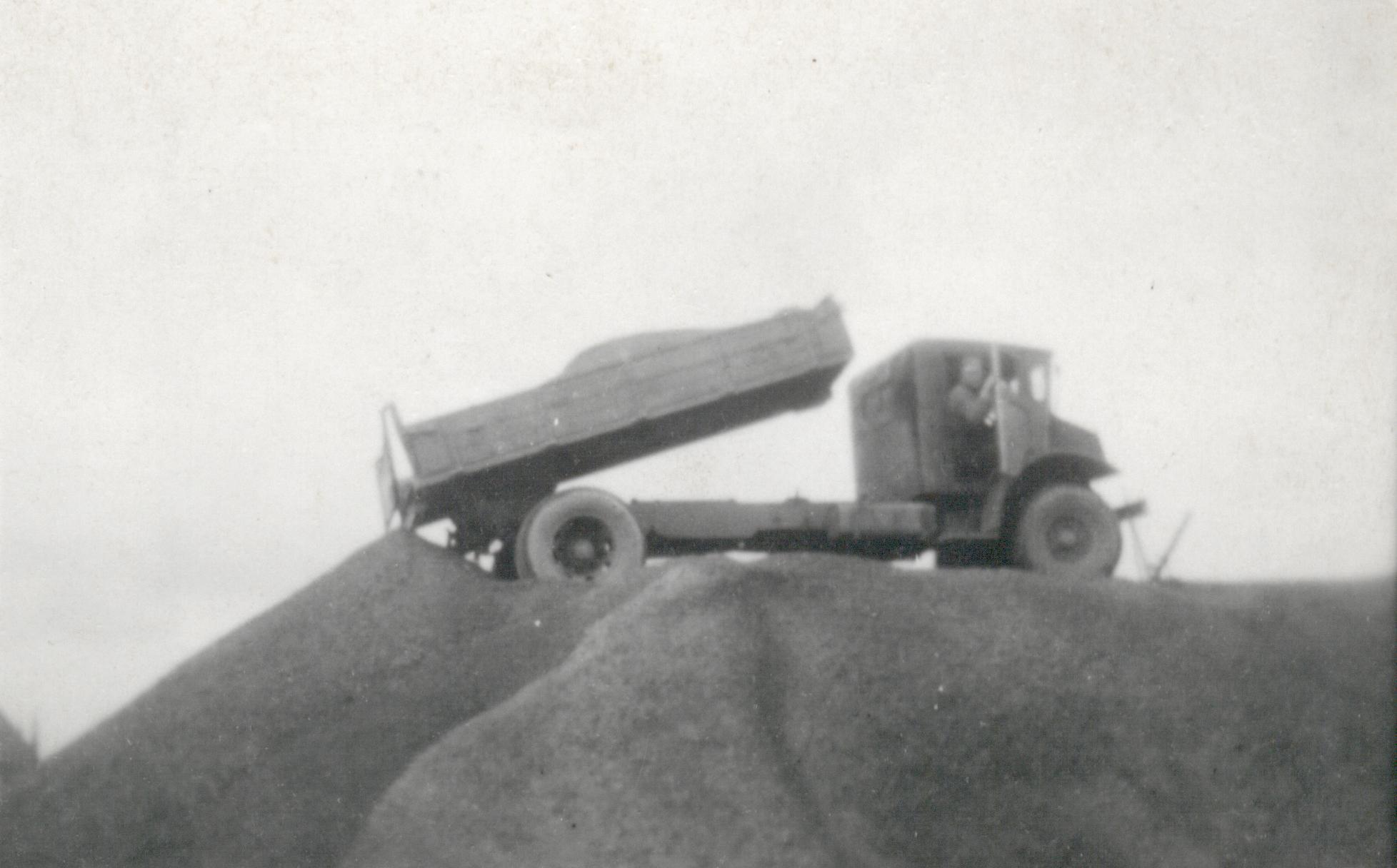 Transportbedrijf oud in 1949