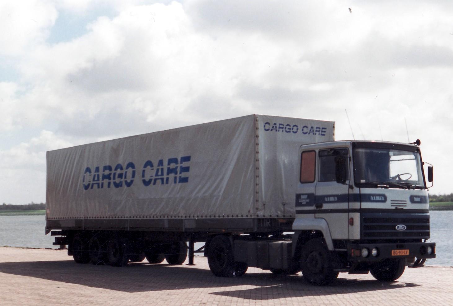 Transportbedrijf oud in 1983