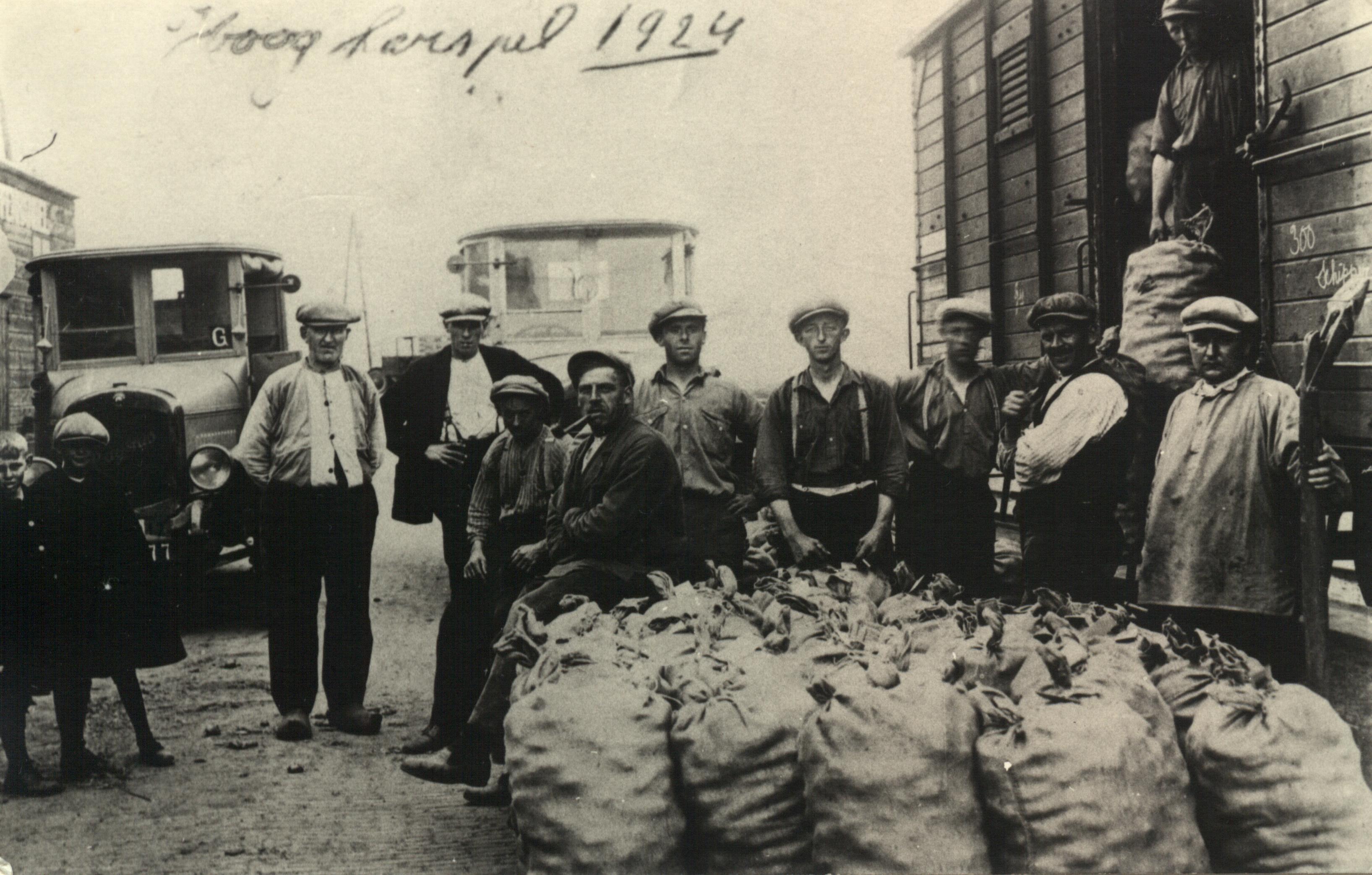 Transportbedrijf Oud in 1924