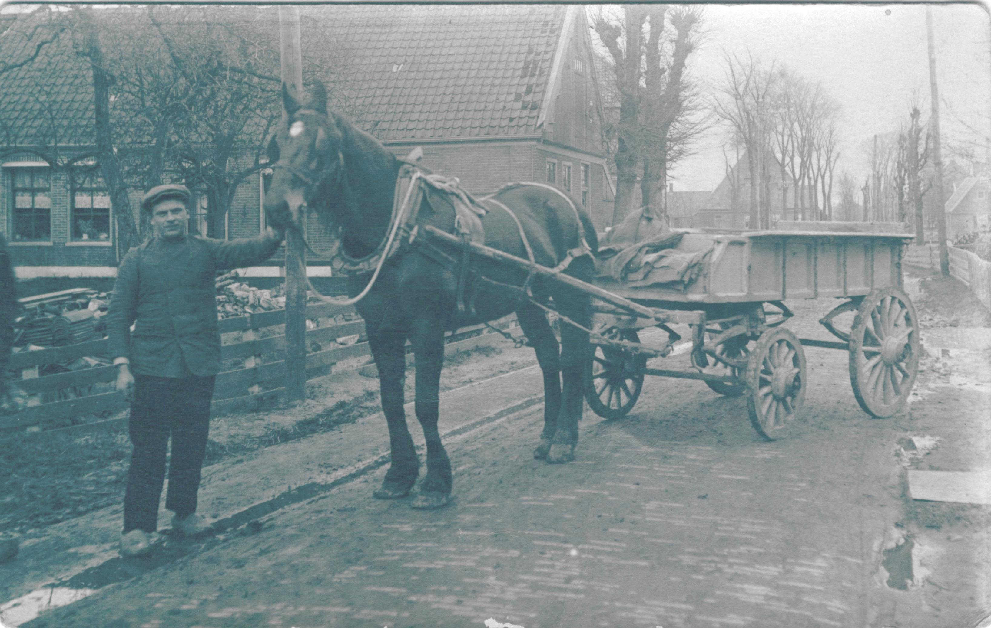 Transportbedrijf Oud in 1912