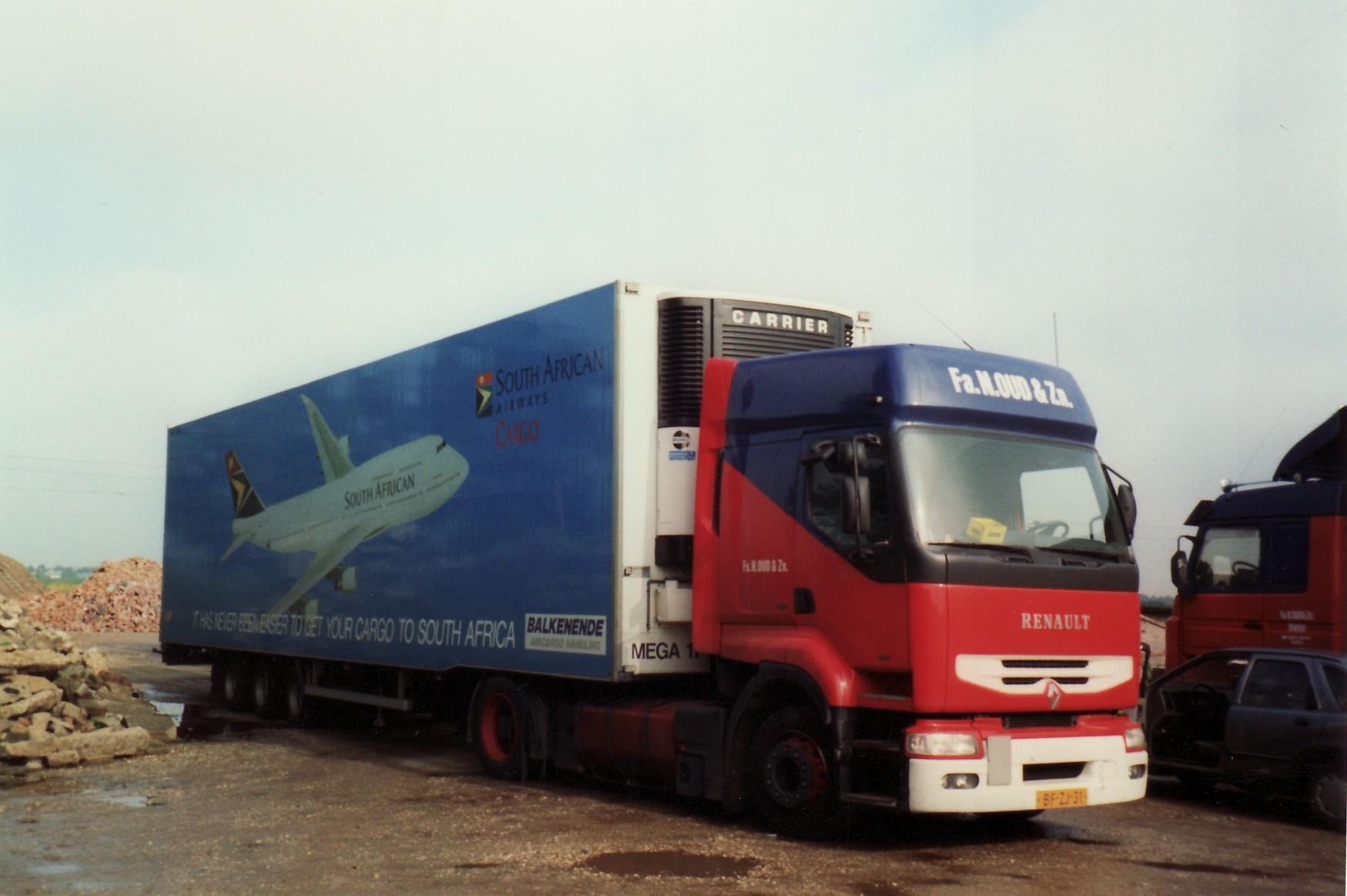 Transportbedrijf Oud in 1996