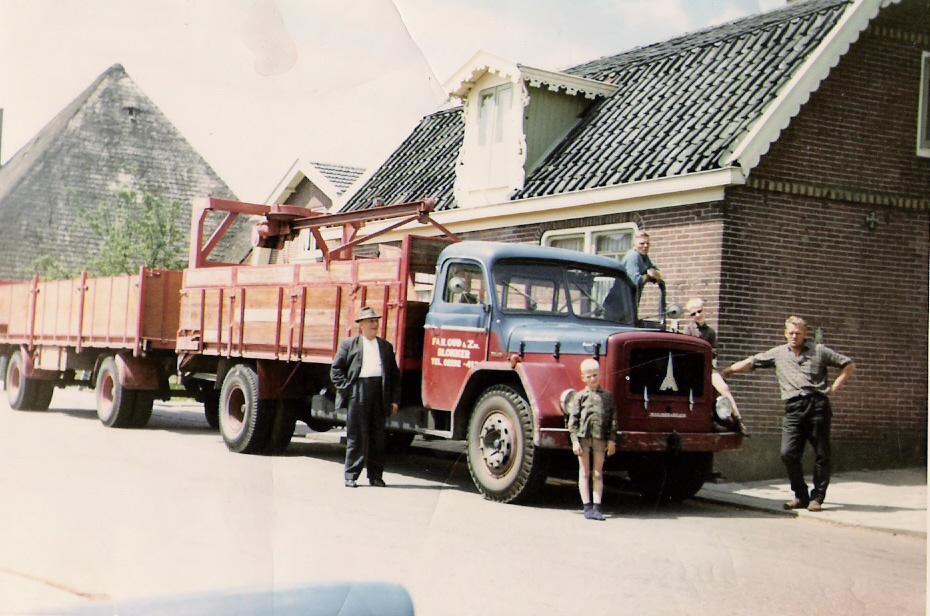 Transportbedrijf oud in 1965